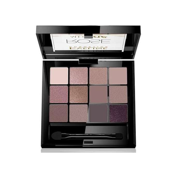 EVELINE ALL IN ONE ROSE Paleta 12 cieni do oczu 12g