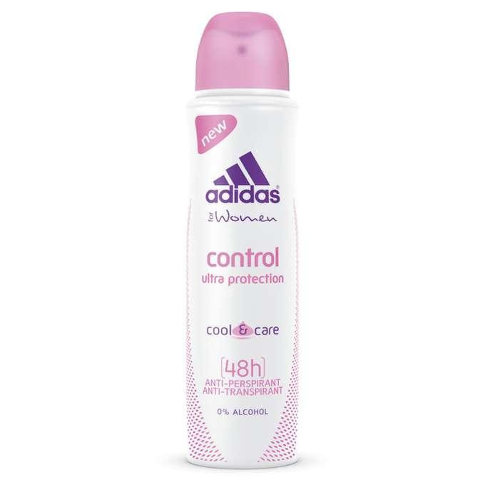 ADIDAS WOMEN CONTROL COOL&CARE 48H Antyperspirant w sprayu 150ml
